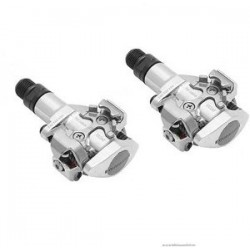 PEDALES SHIMANO PDM505S SPD SILVER