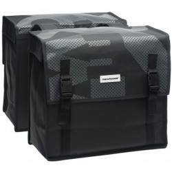 Alforjas NEW LOOXS bisonyl basic negro gris 2x23 litros