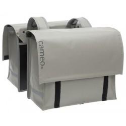 Alforjas NEW LOOXS CAMEO doble bisonyl gris 2x23 litros