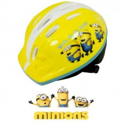 CASCO Infantil MINIONS AMARILLO Regulable