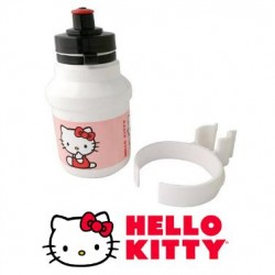 Bidón + pinza soporte HELLO KITTY 300ml.