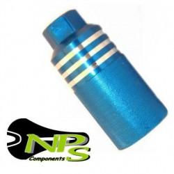 Juego Estriberas BMX Pegs NPS Azul