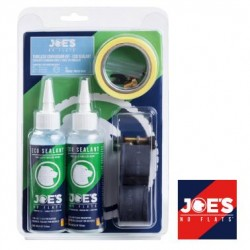 Kit Completo Tubeless  JOE´S ancho 15 -17 Presta