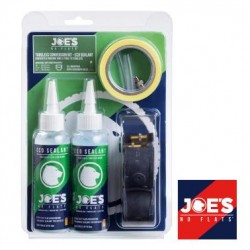 Kit Completo Tubeless  JOE´S ancho 19 - 25 Schrader