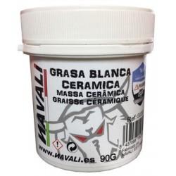 Grasa con cerámica NAVALI 90g blanca
