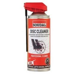 Spray SOUDAL limpia discos 400 ml