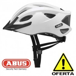 OFERTA Casco ABUS S-CENSION BLANCO Mate