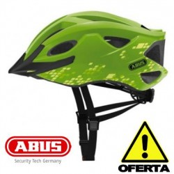 OFERTA Casco ABUS S-CENSION VERDE Brillo