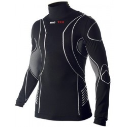 Camiseta interior BIOTEX BIOFLEX WARM compresion cuello alto