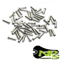 Conjunto 20 TERMINALES Cable NPS Aluminio