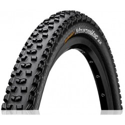 Cubierta CONTINENTAL MOUNTAIN KING 26x2.20 TUBELESS READY plegable negra