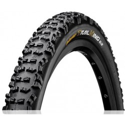 Cubierta CONTINENTAL TRAIL KING 27.5X2.40 PROTECTION TUBELESS READY plegable negra