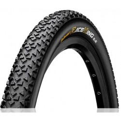 Cubierta CONTINENTAL RACE-KING 26X2.2 PROTECTION TUBELESS READY plegable negra