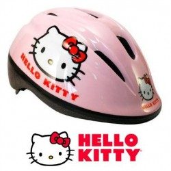 CASCO Infantil HELLO KITTY ROSA Regulable