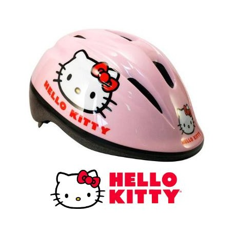 CASCO Infantil HELLO KITTY ROSA Regulable