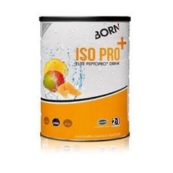 Bote BORN bebida ISO PRO+ carbohidratos - proteinas 400 gr