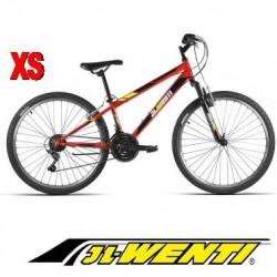 """Bicicleta Montaña JL 26"""" talla XS ROJO"""