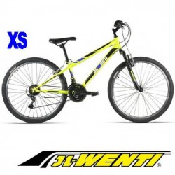 """Bicicleta Montaña JL 26"""" talla XS AMARILLO Fluor"""