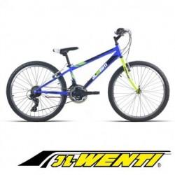 """Bicicleta Montaña JL 24"""" Shimano AZUL"""
