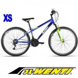 """Bicicleta Montaña JL 26"""" talla XS AZUL"""