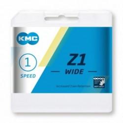Cadena KMC Z1 ANCHA 112 eslabones 1V oro