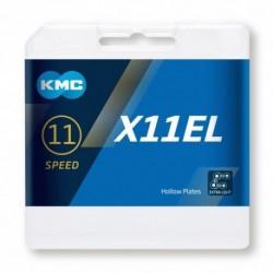 Cadena KMC X11EL 118 eslabones 11V oro