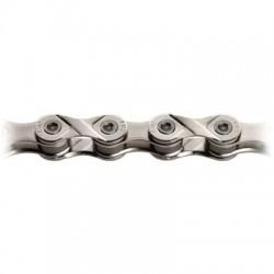Cadena KMC Z8 116 eslabones 8V cromada gris