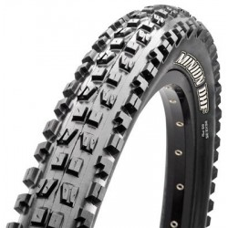 Cubierta MAXXIS MINION DHF EXO DUAL COMPOUND 26x2.30 Tubeless Ready plegable