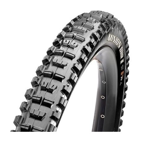 Cubierta MAXXIS MINION DHR II EXO DUAL COMPOUND 27.5x2.30 Tubeless Ready plegable