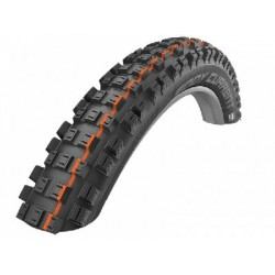 Cubierta SCHWALBE trasera EDDY CURRENT 27.5x2.80 HS497 TUBELESS EASY SNAKESKIN SUPER GRAVITY ADDIX SOFT plegable negra