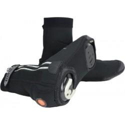Cubre-zapatillas SEALSKINZ LED CYCLE negro