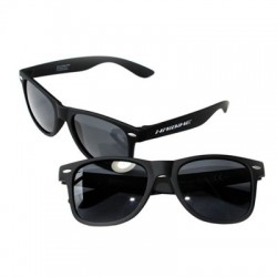 Gafas de sol HAIBIKE montura negra engomada cristal ahumado