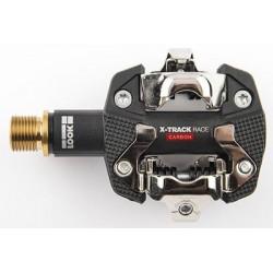 Pedales de MTB LOOK X-TRACK RACE carbono titanio SPD
