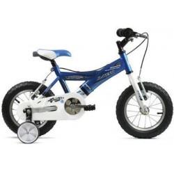 "Bicicleta infantil 12"" JL WENTY azul-blanca"