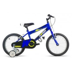 "Bicicleta infantil 16"" JL WENTY azul"