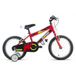 "Bicicleta infantil 16"" JL WENTY roja"