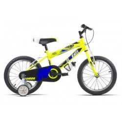 "Bicicleta infantil 16"" JL WENTY amarilla"