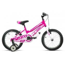 """Bicicleta infantil 16"""" JL WENTY rosa"""