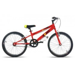 "Bicicleta infantil 20"" JL WENTY roja"
