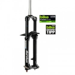 "Suspensión SUNTOUR SF16 DUROLUX TA R2C2 27.5"" 200 mm ahead tapered 20x110 negro mate"