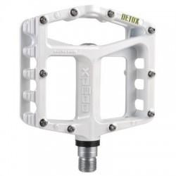 Pedal plataforma XPEDO DETOX MTB blanco