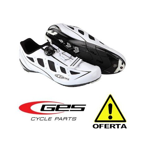 OFERTA Zapatillas Carretera GES SPEED ATOP BLANCO