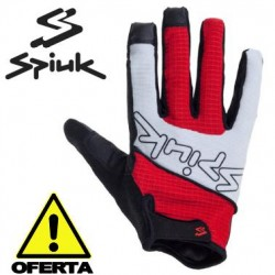 OFERTA Guantes SPIUK XP COUNTRY Enduro ROJO