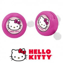 Timbre Infantil metálico HELLO KITTY ROSA original