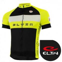 Maillot Ciclista ELTIN MILAN Amarillo Fluor