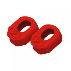 Protector de bielas de carbono ZEFAL XL rojo