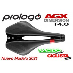 Sillín PROLOGO DIMENSION AGX T4.0 143 negro mate