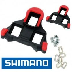 Calas de Pedal SHIMANO SH-10 ROJO