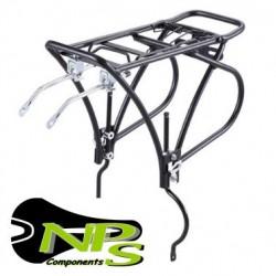 "Portabultos Bicicleta NPS Aluminio 26"" - 27,5"" - 29"" Freno Disco"